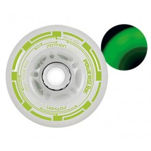 Колеса для роликов Powerslide Foton Envy Led 80mm Green 4-Pack