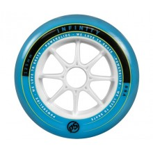 Колеса для роликов Powerslide Infinity Wheel 125mm 88A Blue