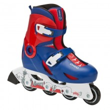 Ролики Oxelo Skates Play 3 blue (26-28, Синий)