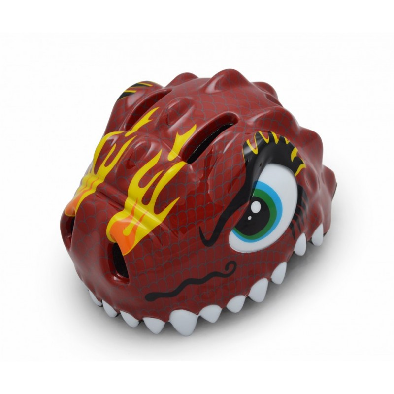 Шлем Crazy Safety Red Dragon Glossy (Китайский дракон) (49-55)