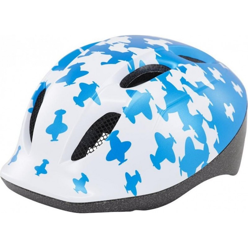 Шлем Met Helmet White/Blue Airplanes