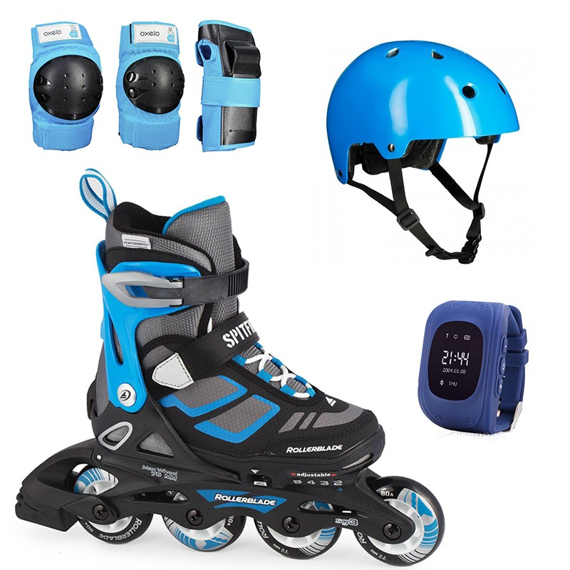Ролики Rollerblade Spitfire Cube 2017 Limited Oxelo (33-36.5)
