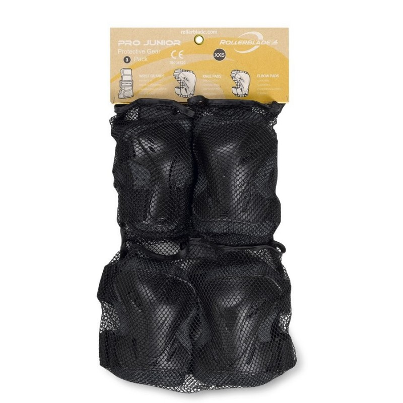 Защита Rollerblade Protection Pro Junior 3 Pack Black (2XS)