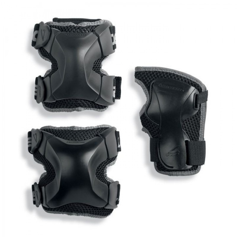 Защита Rollerblade Protection X-GEAR 3 PACK black (XL)